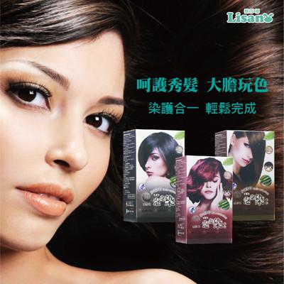 【藜莎梛】3D泡泡染髮乳1盒10包/贈送1組染髮用具套組 (5.7折)