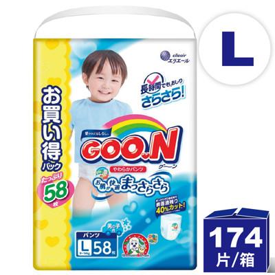 日本大王 阿福狗境內增量版 紙尿褲 ( L-58 男生褲型) (6.5折)