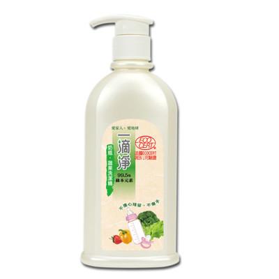 楓康一滴淨奶瓶蔬果清潔劑(檸檬精油) 300g (3.4折)