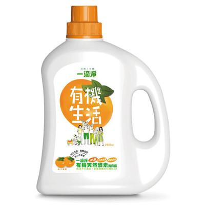楓康一滴淨有機天然酵素消臭洗衣露 柿子精粹洗衣精 2000ml (7.2折)