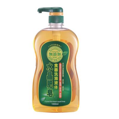 南僑 水晶肥皂食器洗碗精 1000ml*6瓶/箱 (8.1折)