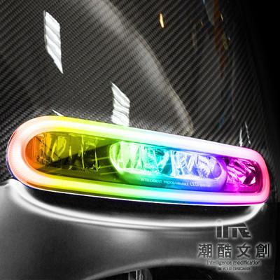 《潮酷文創》GOGORO幻彩燈膜6件組 大燈 方向燈 側燈 保護貼 車貼 車膜 / GS004