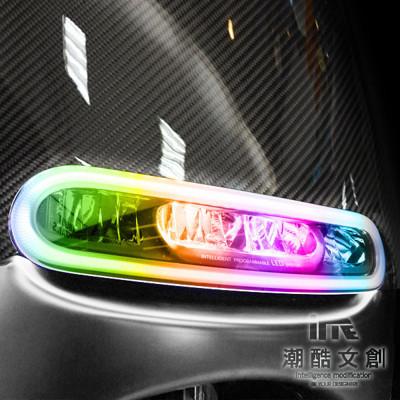 《潮酷文創》GOGORO幻彩燈膜6件組 大燈 方向燈 側燈 保護貼 車貼 車膜 / GS008