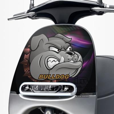 《潮酷文創》GOGORO面板貼 創意保護貼 獨特車貼 車膜 / GR045-鬥犬 (7折)