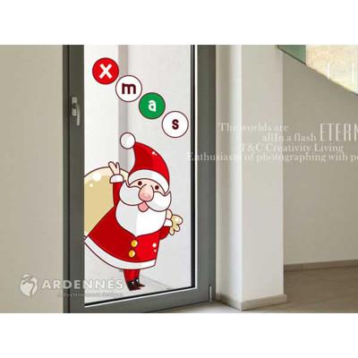 【ARDENNES】耶誕節慶佈置/壁貼 玻璃貼/MB004 歡樂耶誕節 (7.9折)