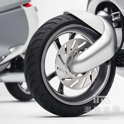 《潮酷文創》GOGORO幻彩輪框-圓型 輪圈貼 輪框變色貼 車膜 / GC003消光銀 (7.5折)