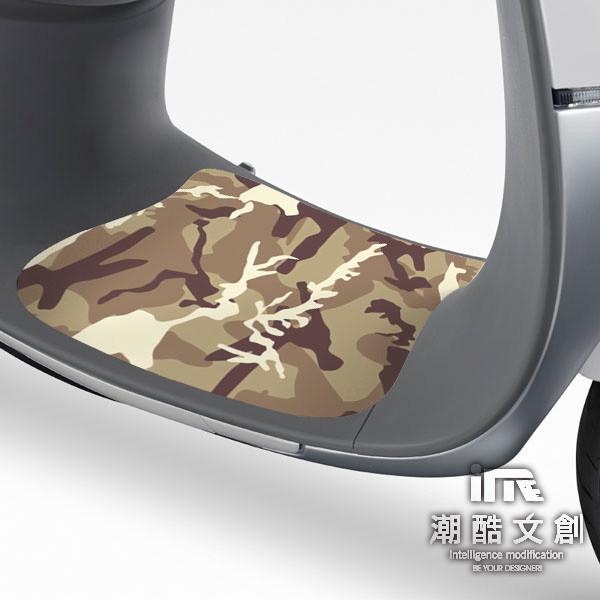 潮酷文創gogoro腳踏墊貼 創意保護貼 腳踏板 踏板貼 / gr056-勇士