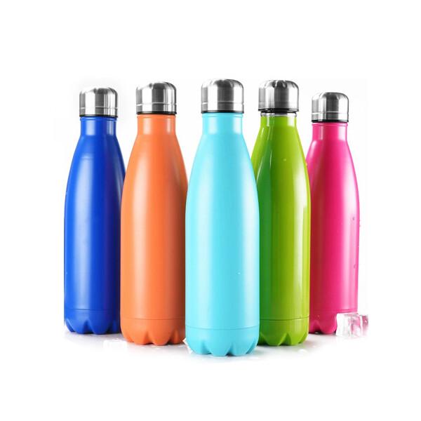 304不銹鋼保溫杯戶外保溫瓶運動水壺可樂瓶水杯子隨手杯