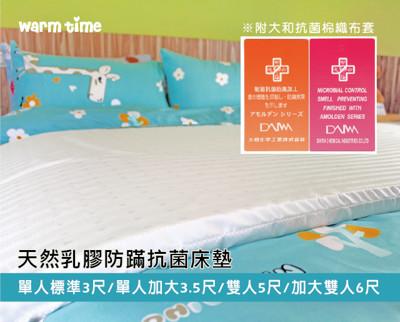 乳膠床墊 / 日本大和防蟎布套 - 單人加大3.5X6.2尺【天然乳膠床墊】WARMTIME (4折)