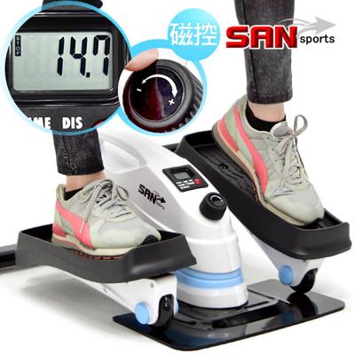 多功磁控橢圓踏步機(結合跑步機+踏步機+健身車) c082-t3 (6折)