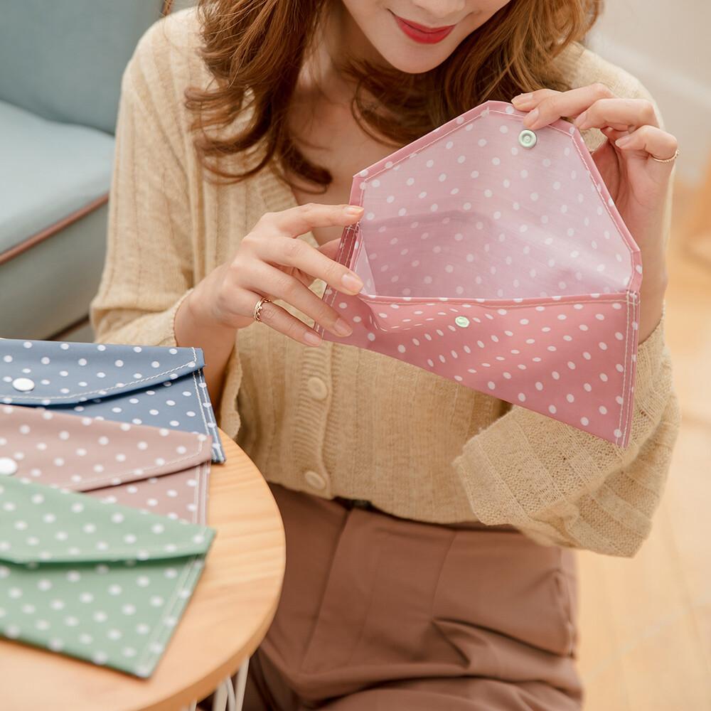 防疫必備 台灣製造口罩防護袋 防水層 收納袋 發票 票卡