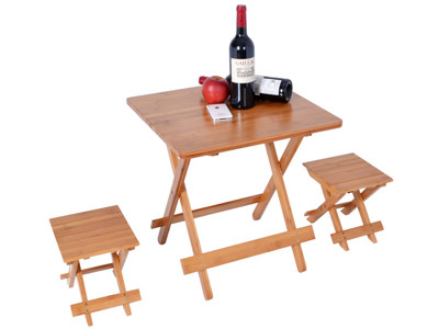 WASHAMl-楠竹折疊桌1桌2椅ZZZ-90(M號) (7折)