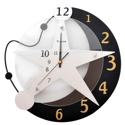 WASHAMl-造型掛鐘(星空6036)※ 靜音機芯 ※ 壁鐘 時鐘 造型鐘 (7折)