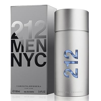 Carolina Herrera 212 都會 男性淡香水 100ML (4.8折)