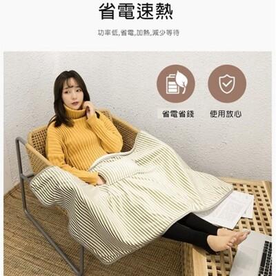 法蘭絨材質 USB加熱毯子/冬天保暖護膝發熱暖腳暖家用辦公電熱毯 (8折)