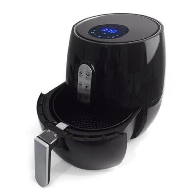 【韓國熱賣款】PERSHOW品夏 第5代智慧型觸控式氣炸鍋 家用無油煙電炸鍋 (5折)