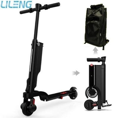 【Lileng】NO6可拆式電芯電動滑板車 LG電芯雙輪電動平衡車(附收納袋) (4.5折)