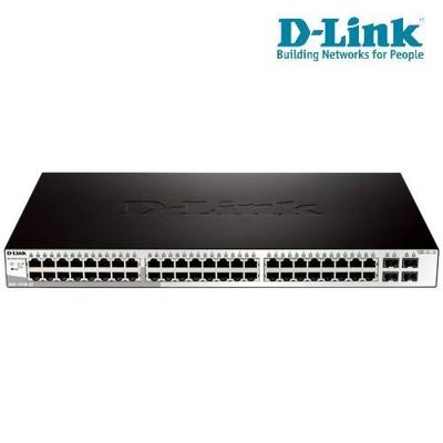 D-Link 友訊 DGS-1210-52 48埠 Layer 2 Gigabit 智慧型網管交換器 (10折)