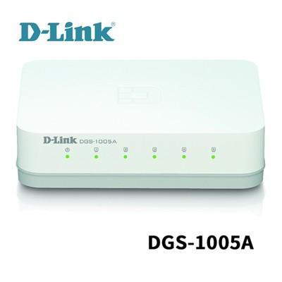 D-Link 友訊 DGS-1005A 5埠 EEE節能桌上型網路交換器 (10折)