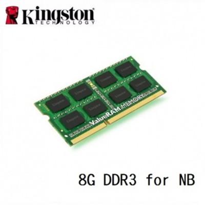 Kingston 金士頓 DDR3 1600 8GB 筆記型電腦用記憶體 (10折)