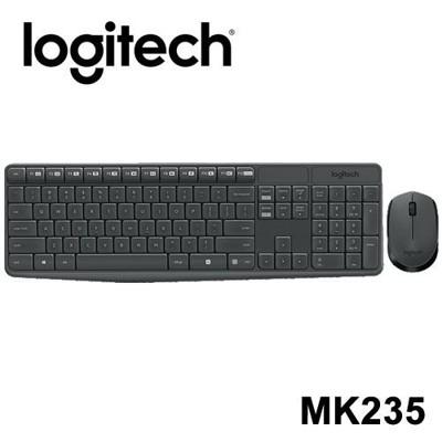 Logitech 羅技 MK235無線滑鼠鍵盤組 (10折)
