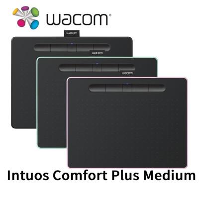 Wacom Intuos Comfort Plus Medium 藍牙版繪圖板 CTL-6100WL (10折)