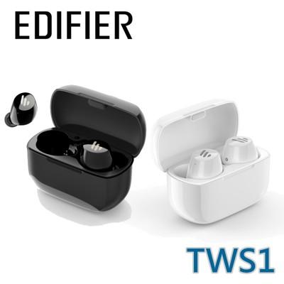 EDIFIER 漫步者 TWS1 真無線藍牙5.0 耳機 黑色 / 白色 (10折)