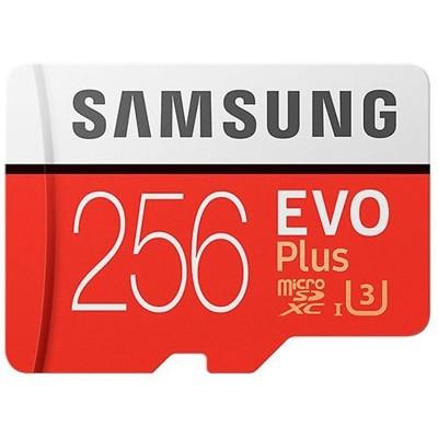 Samsung 三星 EVO Plus 256GB microSDXC 記憶卡 (10折)