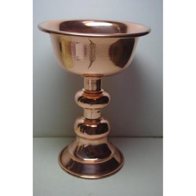 紅銅酥油燈杯7*9公分 - (10折)