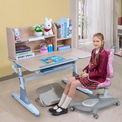 【生活誠品】兒童書桌椅 學習桌椅 兒童桌椅 可升降兒童成長桌椅組 ME362+AU612桌椅組 (6.4折)