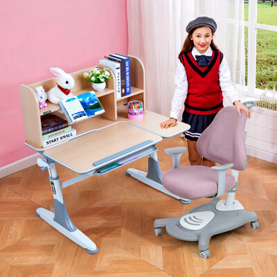 【生活誠品】兒童書桌椅 學習桌椅 兒童桌椅 可升降兒童成長桌椅組 ME362+AU880桌椅組 (5.9折)