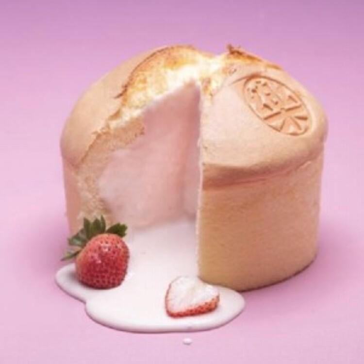 樂樂甜點樂樂草莓蜂爆漿布丁蛋糕(6吋/盒)