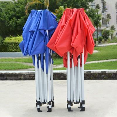 帳篷 戶外遮陽篷折疊四方大傘遮雨棚伸縮式帳篷四角活動防雨擺攤用棚子 (4.5折)