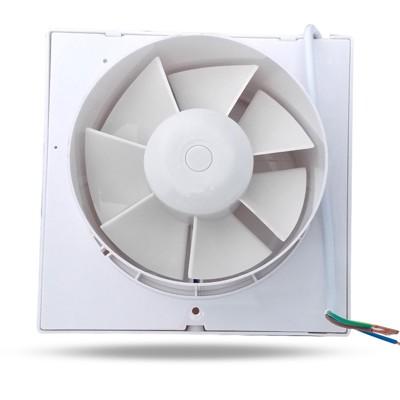 浴室排氣扇 小型排風扇衛生間換氣扇墻壁式強力廁所抽風機4寸家用 - 變頻6寸電動百葉 (4.9折)