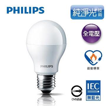 飛利浦 PHILIPS 廣角型 14W LED 燈泡 (6.2折)
