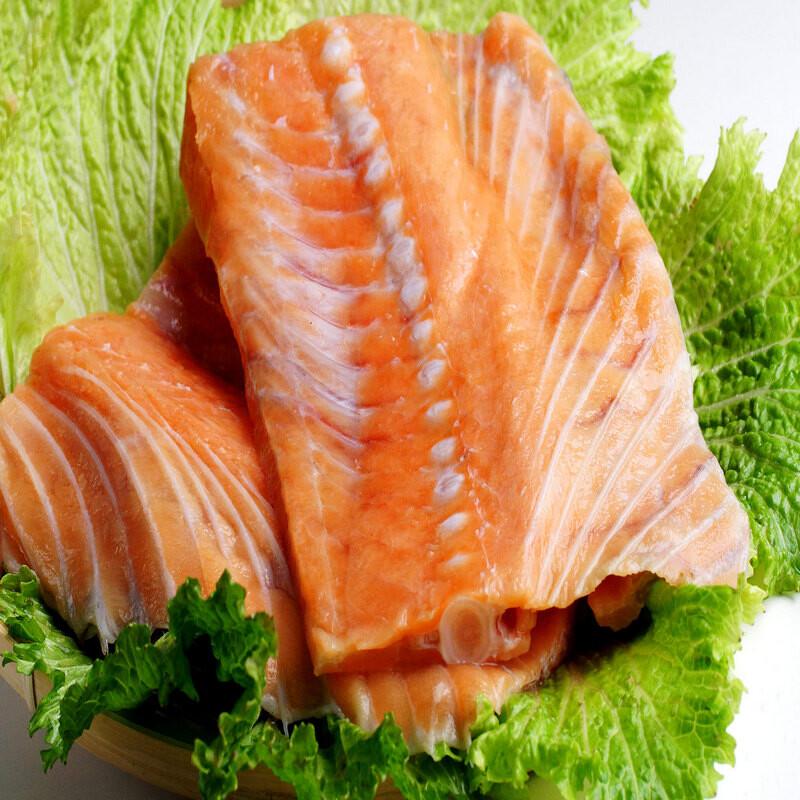 四季御品頂級鮭魚中骨450g