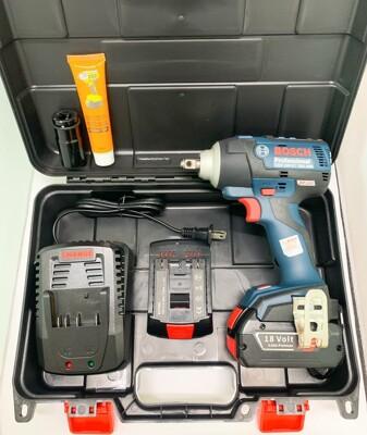 無刷電動扳手 原廠博世 BOSCH GDS18V-EC300ABR 18V雙電 4.0AH (8折)
