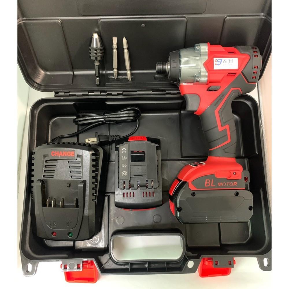 鋰電無刷衝擊起子 通用bosch 博世 21v(18v)  / 簡配 3.0ah 兩電一充(雙電池)