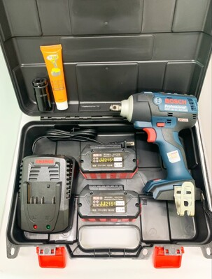 無刷電動扳手 原廠博世 BOSCH GDS18V-EC300ABR 18V雙電 6.0AH (8.1折)