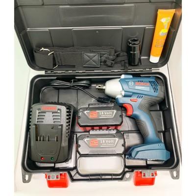 有碳刷電動扳手 原廠 博世 BOSCH GDS250-LI 18V 組合系列/鋰電衝擊電動扳手 (9.8折)