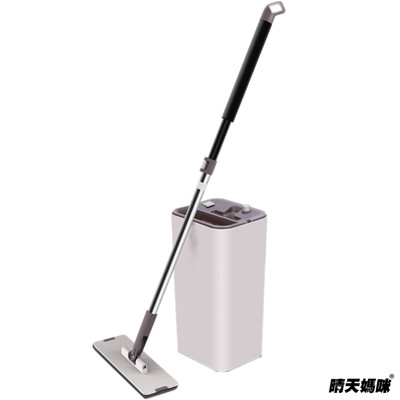 晴天媽咪-Z9免手洗平板拖把 (一拖2布)【003002-01】 (4.5折)
