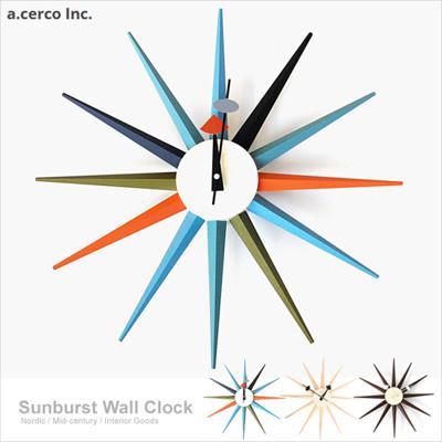 a.cerco-經典光芒鐘 Sunburst Clock【B19001】 (9.1折)