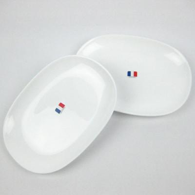 法國Luminarc【樂美雅】純白松子盤二入組 (7.2折)