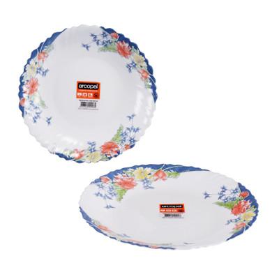 【法國ARCOPAL】現代藍強化餐具二件組 (6.1折)
