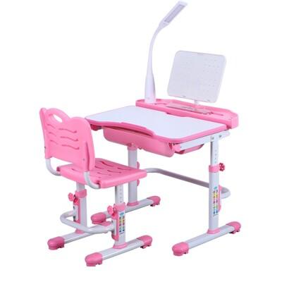 學習課桌椅 兒童書桌椅 升降桌椅 電腦桌 學習桌 電腦(70cm桌面)不含檯燈 (6.4折)