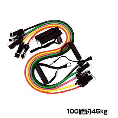 【米蘭精品】拉力繩健身器材彈力繩-多功能乳膠全身塑型彈力繩套裝重訓器具5色69j26 (3折)