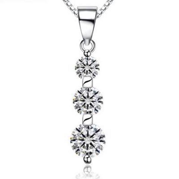 925純銀項鍊 花瓣吊墜-獨特白領時尚女配件73v41米蘭精品