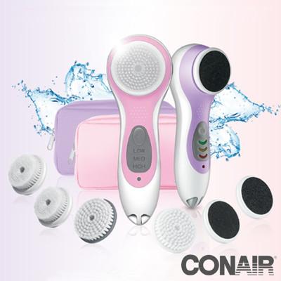 Conair 音波深層淨膚儀&美足護理超值組 SFSPCSTW (5.1折)
