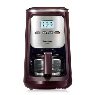 【贈綜合咖啡豆】Panasonic國際 4人份研磨咖啡機 NC-R600 (7.2折)