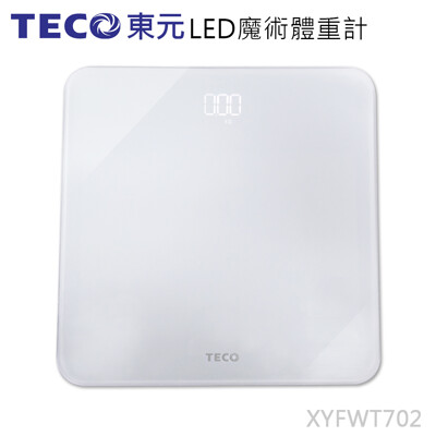 TECO東元  XYFWT702  LED魔術體重計 (6.3折)